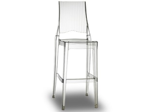 Barhocker Glenda stapelbar transparent 9724 von Scab Design