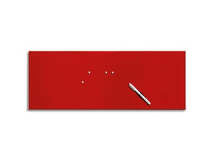 Memo Board 80x30cm Red n-7549-4850 von Eurographics