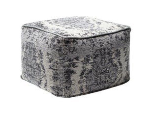 Hocker Kelim Pop Grey n-7272 von KARE Design