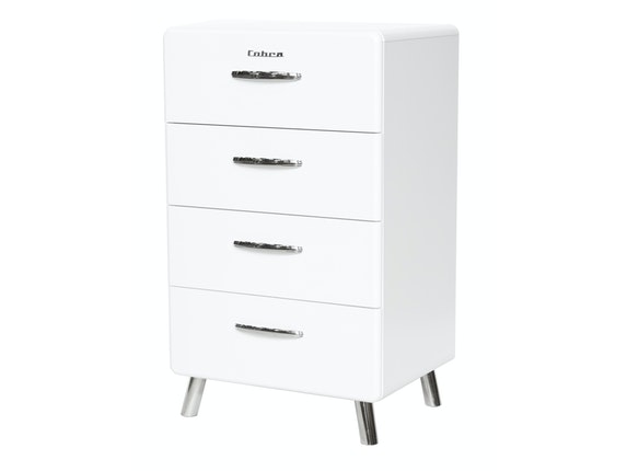 msp furniture Kommode Cobra 56 mit 4 Schubladen weiß n-8791-6647 - 1