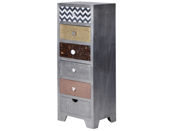 SIT Möbel Highboard Metal & Bone 6 Schubladen n-8140 - 2