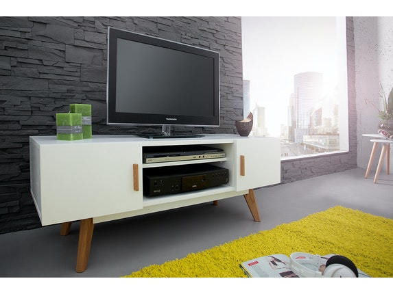 Interior Home Tv-Lowboard Rusher 120 cm weiß n-9357 - 2