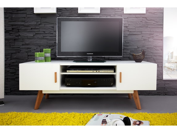 Interior Home Tv-Lowboard Rusher 120 cm weiß n-9357 - 3