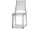 Designer stuhl glenda stapelbar gr n transparent scab for Designer stuhl transparent