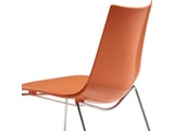 Scab Design Designer orange Stuhl Zebra Technopolymer Sledge 10981 Miniaturansicht - 3