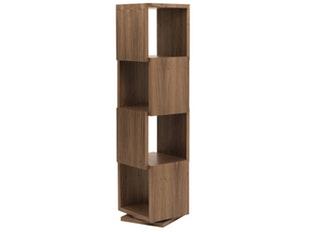 raumteiler regal london 003 nussbaum wei. Black Bedroom Furniture Sets. Home Design Ideas