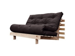 Schlafsofa Roots Raw 140 cm anthrazit n-7077-4590 von Karup