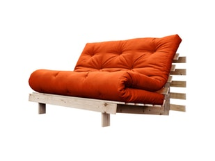 Schlafsofa orange Roots Raw 140 cm n-7077-4592 von Karup