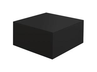 Couchtisch Kubus Hochglanz Schwarz 60 Cm Quadratisch 1896 Von SalesFever