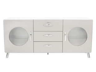 Sideboard warmgrau Cobra 2 Türen 3 Schubladen n-8795-6680 von msp furniture