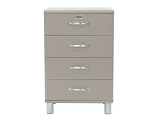 Kommode warmgrau Malibu 60 mit 4 Schubladen n-8812-6795 von msp furniture