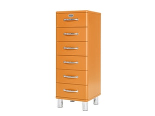 Kommode orange Malibu mit 6 Schubladen n-8846-6903 von msp furniture