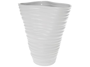 Vase White Wrinkle 925 von KARE Design