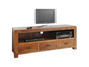 tv board redux 100cm sheesham. Black Bedroom Furniture Sets. Home Design Ideas