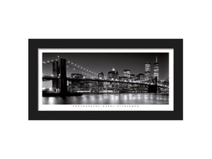 Wandbild Brooklyn Bridge 55x28 cm 9113 von Eurographics