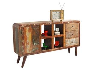 sideboard jones 1 t r 3 schubladen synoun. Black Bedroom Furniture Sets. Home Design Ideas