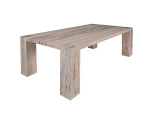 Esstisch square massivholz stahlgestell eiche ge lt 220 cm for Esstisch goliath