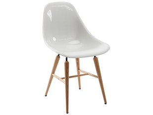 Stuhl Forum Wood White n-7329 von KARE Design