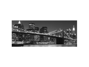 Glasbild New York Skyline 125x50cm n-7389 von Eurographics