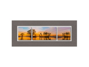 Glasbild Beautiful Sunset 125x50cm n-7537 von Eurographics