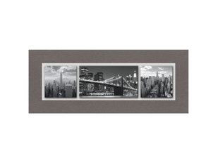 Glasbild Big Apple 125x50cm n-7539 von Eurographics