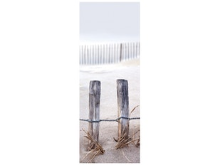 Glasbild Fence In The Dunes 30x80cm n-7560 von Eurographics