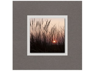 Glasbild Evening Light  50x50cm n-7591 von Eurographics