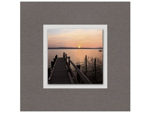 Glasbild Peaceful Sundown 50x50cm n-7598 von Eurographics