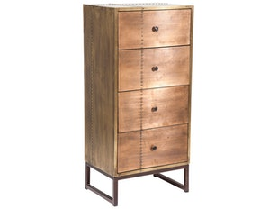 Highboard Rivet Copper n-7802 von KARE Design