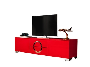 TV Lowboard Twenty 180 cm rot n-9204 von Interior Home