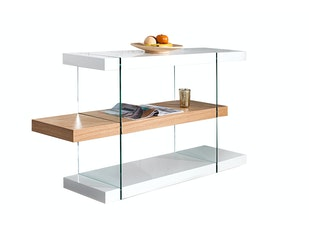 Regal Zeus 75 cm Glas-Eiche n-9293 von Interior Home