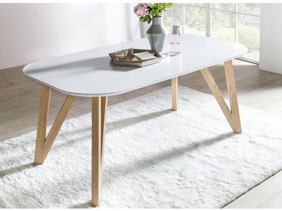 esstisch wei esszimmertisch holz tisch beine. Black Bedroom Furniture Sets. Home Design Ideas