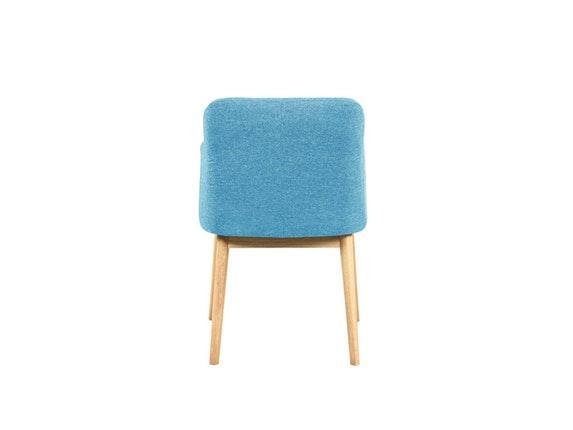 esszimmerstuhl mit armlehne eiche t rkis ando. Black Bedroom Furniture Sets. Home Design Ideas