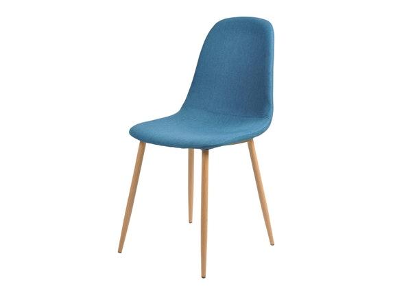 Tischgruppe Ainara 5tlg Tisch 120x80 Cm & 4 Stühle Blau