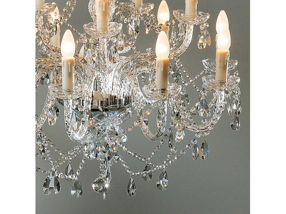 Kronleuchter Design kronleuchter gioiello kristall 14 flammig kare design