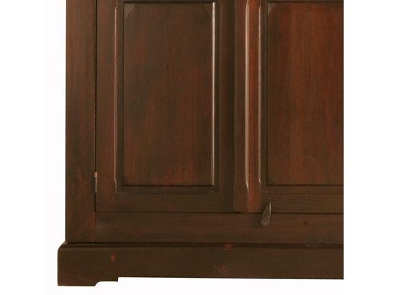 Kleiderschrank Cabana Pappel Massivholz 3 Türen » KARE Design ...