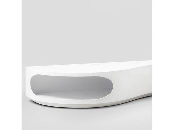 Design lowboard weiß  Lowboard Tchouc Hochglanz Design weiß » SalesFever – Salesfever.de