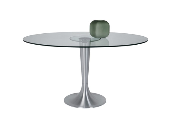 esstisch grande possibilita oval 140x95cm. Black Bedroom Furniture Sets. Home Design Ideas