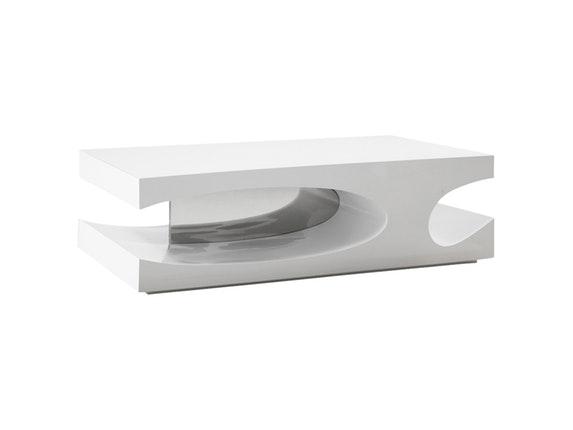 Couchtisch Design Weiß couchtisch julie ct hochglanz design weiß salesfever salesfever de