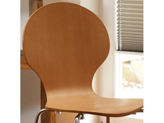 stuhl klassiker im 4er set stapelbar buche synoun. Black Bedroom Furniture Sets. Home Design Ideas