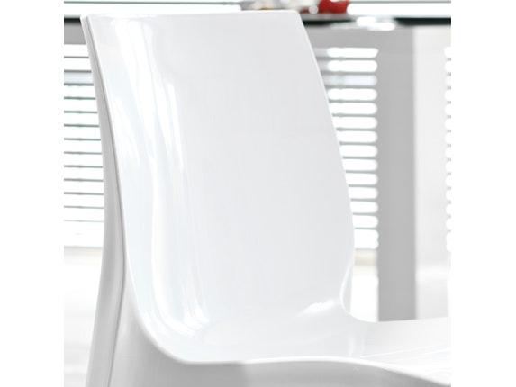 designer stuhl sari wei. Black Bedroom Furniture Sets. Home Design Ideas