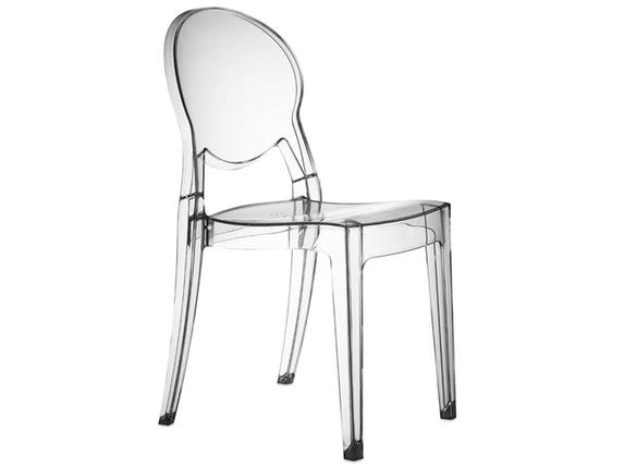 designer stuhl igloo aus kunststoff transparent salesfever. Black Bedroom Furniture Sets. Home Design Ideas