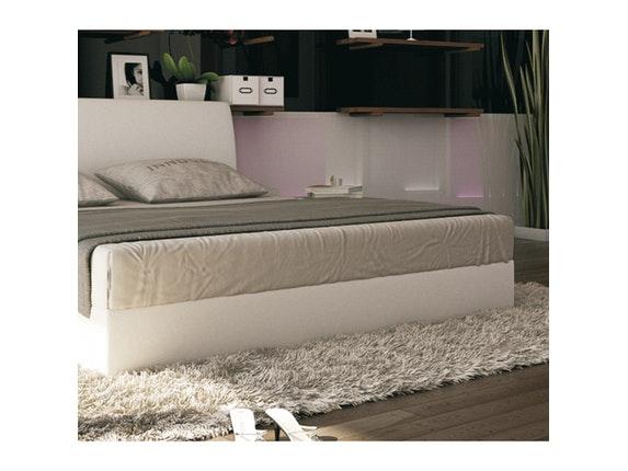 polsterbett vista 140x200 cm in wei. Black Bedroom Furniture Sets. Home Design Ideas