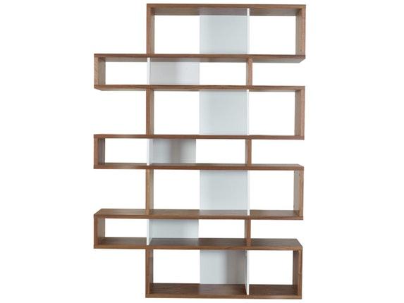 regal raumteiler london 003 nussbaum wei temahome. Black Bedroom Furniture Sets. Home Design Ideas