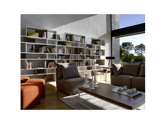 raumteiler wei nussbaum london 003. Black Bedroom Furniture Sets. Home Design Ideas