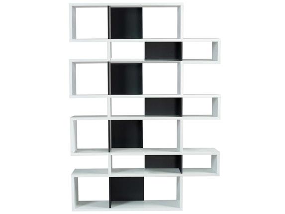 regal raumteiler london 003 wei schwarz temahome. Black Bedroom Furniture Sets. Home Design Ideas