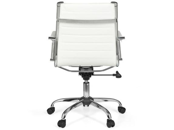 Schreibtischstuhl  Schreibtischstuhl Monex 2 Kunstleder weiß » SalesFever – Salesfever.de