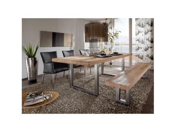 esstisch square eiche ge lt 220 cm. Black Bedroom Furniture Sets. Home Design Ideas