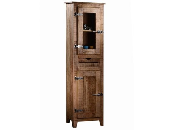 massivholz vitrine tamil linksanschlag. Black Bedroom Furniture Sets. Home Design Ideas