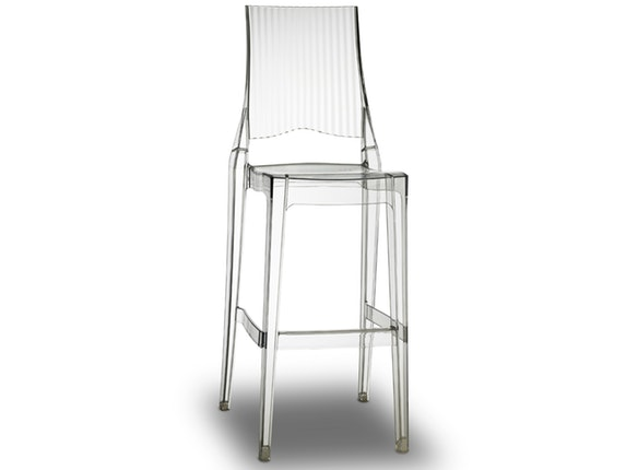 Barhocker Design barhocker glenda stapelbar transparent scab design salesfever de